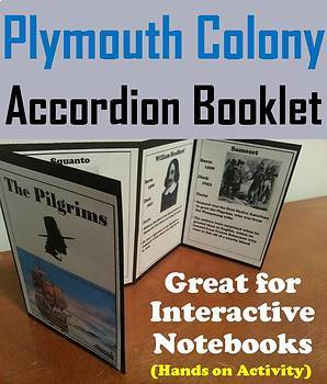 Roanoke, Jamestown and Plymouth Colonies Interactive Notebooks Bundle