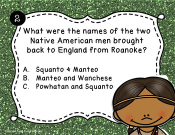 Roanoke PowerPoint Lesson and Printables