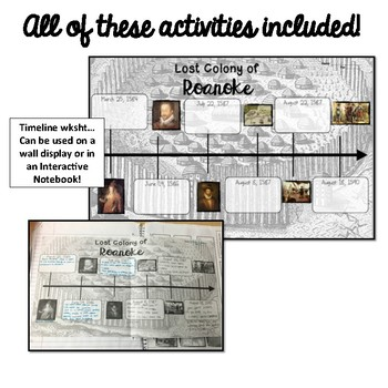 Roanoke Timeline Activity