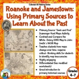 Roanoke and Jamestown: Using Primary Resources to Learn about the Past