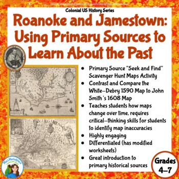 Roanoke and Jamestown: Using Primary Resources to Learn ab