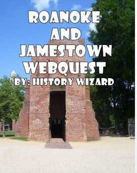 Roanoke and Jamestown Webquest
