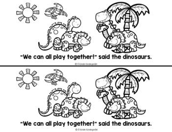 Roar!  A Dinosaur Themed Book Set