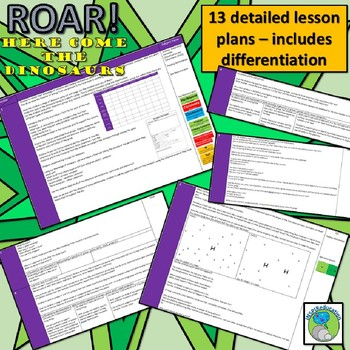 Roar - Here come the Dinosaurs (Variation, Classification, Extinction, Feeding)