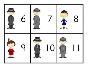 Roarin' to the 20's - Numbers 0-20
