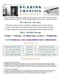 'Roaring Twenties' Research Project: Slideshow Presentation