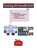 Roaring 20's Vocab/Presentation/Graphic Organizer/Summative Assessment Pack