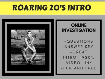 Roaring 20's Intro - FREE