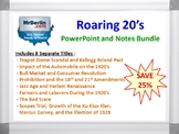 Roaring 20's PowerPoint and Notes Bundle