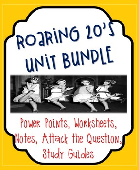 Roaring 20's Unit Bundle