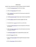 Roaring 20's Webquest