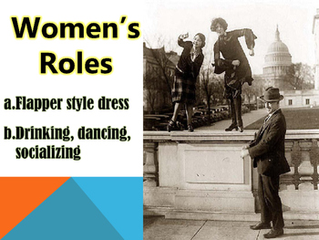 Roaring 20's/causes of Great Depression