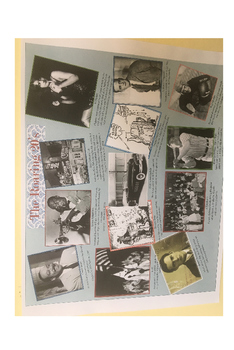 Roaring 20s 1920s Preview Collage Mini Research Project