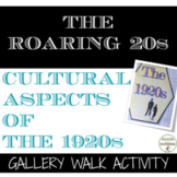 Roaring 20s Gallery walk on the cultural aspects of 1920s America