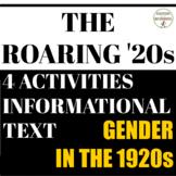 Roaring 20s 1920s Gender Role Activities