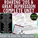 Roaring '20s & Great Depression Curriculum, 1920s & 1930s