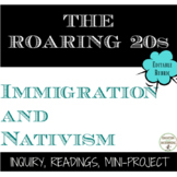 Roaring 20s Immigration Nativism and Backlash in the U.S.