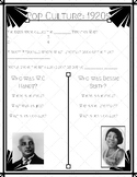Roaring 20s Interactive Notes