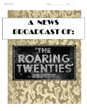 Roaring 20s News Broadcast/Skit Project: Flappers, Sports,