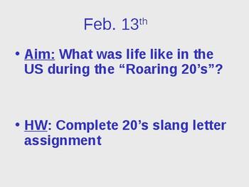 Roaring 20s PowerPoint