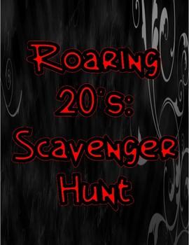 Roaring 20s: Scavenger Hunt
