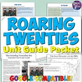 Roaring 20s Study Guide and Unit Packet