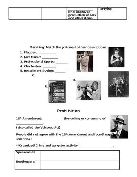 Roaring 20s Test/Review
