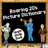 Roaring 20s Vocabulary Picture Dictionary