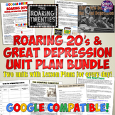 Roaring 20's and Great Depression Complete Unit Bundle