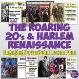 Roaring 20's and Harlem Renaissance Lesson