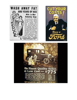 Roaring Twenties - Advertising Then and Now