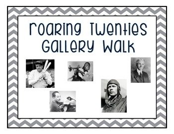 Roaring Twenties Gallery Walk