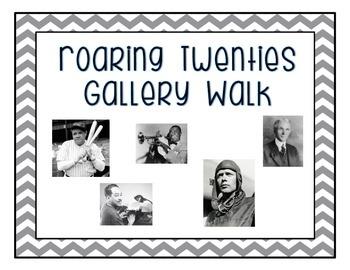 Roaring Twenties Gallery Walk