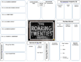 Roaring Twenties Graphic Organizer