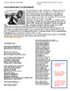 Roaring Twenties/ Harlem Renaissance: Musicians worksheet song analysis activity