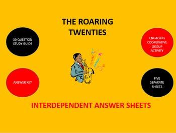 Roaring Twenties: Interdependent Answer Sheets