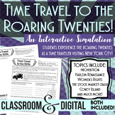 "Roaring Twenties Simulation ""Time Travel"" to the 1920s Dis"