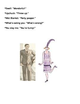 Roaring Twenties Slang