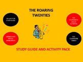Roaring Twenties:  Study Guide and Activity Pack