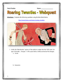 Roaring Twenties - Webquest with Key