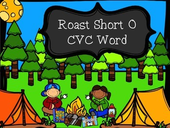 Roast A Cvc Word - Short O