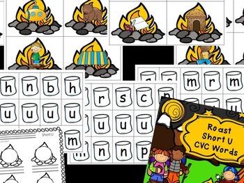 Roast Short Vowels - CVC Word Building
