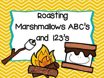 Roasting Marshmallows ABC's and 123's
