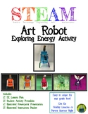 Robart the Art Robot STEAM Energy Activity