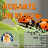 Robarte un beso Spanish Song Activities Packet