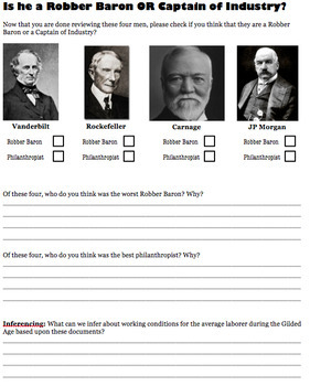 Robber Baron or Captain of Industry?