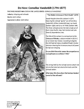 Robber Barons Captains of Industry Analysis