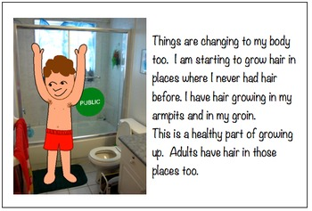 Robbie Learns About: Washing his Body in the Shower - a social narrative