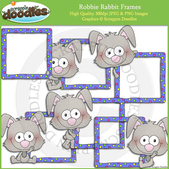 Robbie Rabbit Frames