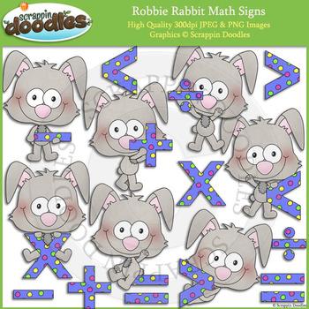 Robbie Rabbit Math Signs